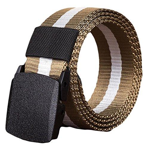 Lavendel Satin-handschuhe (ITISME GürtelFashion Man Faruen Automatic Nylon Belt Buckle Military Fans Tactical Canvas Belt)