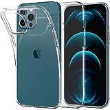 Spigen Funda Liquid Crystal Compatible con iPhone 12 Pro MAX - Transparente