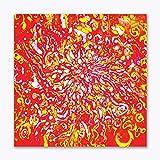 Tamatina Batik Art Canvas Paintings - Abstract Batik Art - Traditional Paintings - Tribal Art - Paintings For Living Room - Paintings For Bedroom - Paintings For Drawing Room - Paintings For Home Décor - Canvas Paintings For Wall