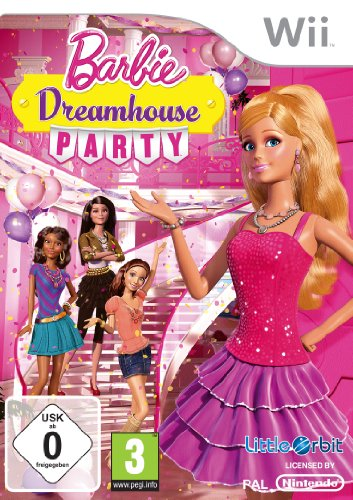 Barbie Dreamhouse Party Barbie Wii