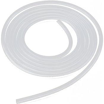 tube de silicone - TOOGOO(R)2 metres de tuyau de pression de tube tube de silicone de silicone tres souple 4 * 6mm