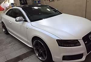 3d Perlmutt Matt Effekt Folie Weiß Blau 1 52m Car Wrapping Farbwechsel 10cm X 10cm Farbmuster Auto