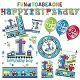 Amscan 9050 0275 Party Set Geschirr, Birthday