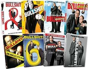 Penn & Teller Bullshit: Eight Season Pack [DVD] [Region 1] [US Import] [NTSC]
