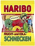 Haribo Frucht-und Cola Schnecken gefüllt, 6er Pack (6 x 175g)