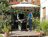 Haberkorn-Garten Edler Pavillon für Grill oder Terrasse Grillpavillon mit Abzug 240 x150