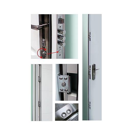 Haustür sicherheitstür  Haustür Tür Sicherheitstür Wohnungstür Haustüren 96x205cm ...