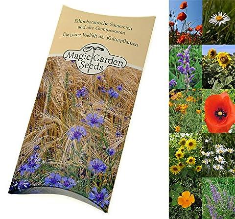 Kit de graines: 'Fleurs d'été', semences pour 5 variétés colorées dans un bel emballage cadeau