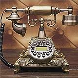 XFF Knopf-Retro- Örtlich Festgelegtes Telefon-Innenministerium-Überlandtelefon Antikes Europäisches Dekoratives Telefon