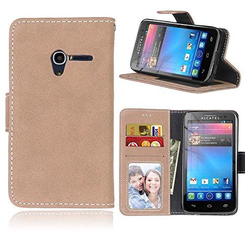 Alcatel-One-Touch-pixi3-40-Zoll-Hlle-Cozy-hut-TPU-Silikon-Hybrid-Handy-Hlle-Matte-Series-Case-Durchsichtig-Stofest-Tasche-Schutz-Scratch-Resistant-protection-Case-Tasche-Schutzhlle-Cover-Handyhlle-Etu