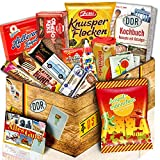 Fruchtgummis Ampelmännchen + Ost Set mit Süßigkeiten | Süßigkeiten aus der DDR