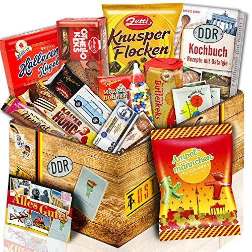 Fruchtgummis Ampelmännchen PLUS Süße DDR Geschenkbox | Süßigkeiten aus der DDR