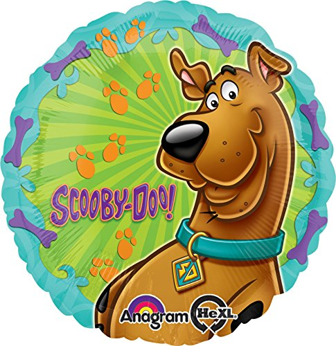 "Folienballon ""Scooby Doo"" rund 43cm (Scooby-doo-ballons)"