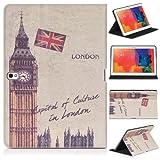 DONZO Wallet City Tablet Tasche für Samsung Galaxy Tab Pro 10.1 T520 T525 Mehrfarbig