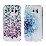 HuaForCity 2 Pack Samsung Galaxy S6 Edge Handy Hülle Silikon Schutz Tasche