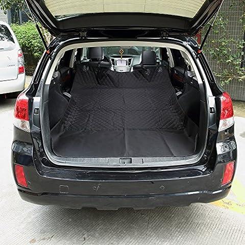 Uni Meilleur Cargo Liner Coque pour SUV et voitures, Matériau imperméable, antidérapant, Extra Bumper Rabat Protector, ajustement universel