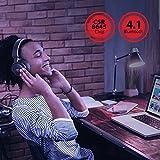 Bluetooth Kopfhörer 4.1 TaoTronics Over Ear Kopfhörer on ear kabellos, 25 Stunden Spieldzeit, AptX, 50 mm Membran, Memory Foam Ohrpolster, Headset mit Kabel & ohne, flexibles & ergonomisches Design - 5