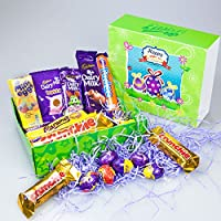 Amazon easter gifts hampers gourmet gifts grocery cadbury chocolate easter special gift box by moreton gifts mini eggs crme egg negle Image collections
