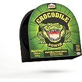 Pattex Crocodile Power Cinta, cinta americana fuerte de doble grosor, cinta adhesiva con fuerte poder de pegado, cinta aislan