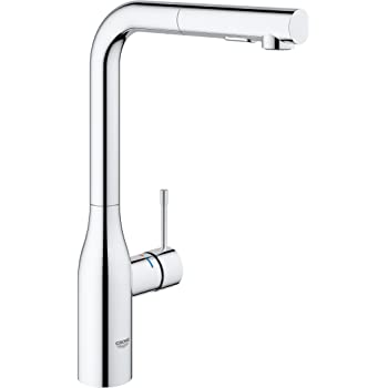 Grohe Minta Single Lever Kitchen Tap With Pull Out Spray