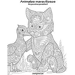 Animales maravillosos libro para colorear para adultos 2: Volume 2