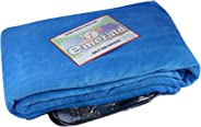 Emerald Super Luxury Blanket,Flannel Fleece Coral Soft Blanket Ruby Blue