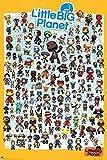Little Big Planet 3 Poster Charaktere (61cm x 91,5cm) + 2 St. Schwarze Posterleisten mit Aufhängung