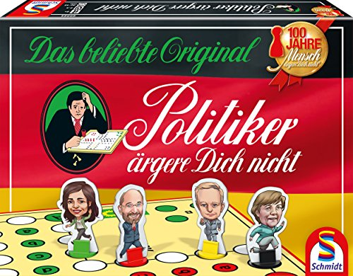 Schmidt Spiele 49344 Politiker ärgere Dich nicht, (Alte Outfits Menschen)