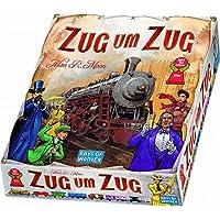 Days-of-Wonder-Zug-um-Zug Asmodee Days of Wonder 200060 Zug um Zug Brettspiel, Deutsch -