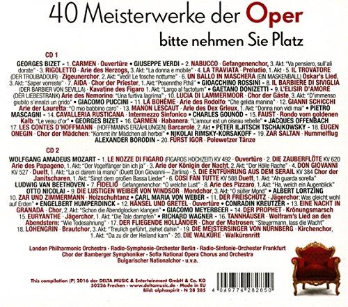 40 Meisterwerke der Oper [Import allemand]