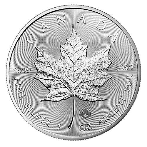 1 OZ Silber Silver Münze 1 UNZE - Maple Leaf 2019 -