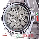 M MHB Wrist watch Hidden Recording While recording no light Flashes.Steel Wrist Watch Camera Inbuild 4gb Memory . Original Brand Only Sold by M MHB .