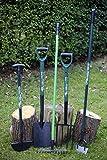 5 Gartenwerkzeuge im Set, Spaten, Gabel, Harke, Hacke, Rasenkantenstecher