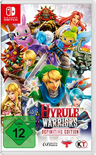 Hyrule Warriors Definitive Edition - [Nintendo Switch] (Super Smash Bros Prima)
