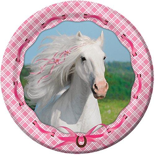 Essbarer Tortenaufleger Weisses Pferd