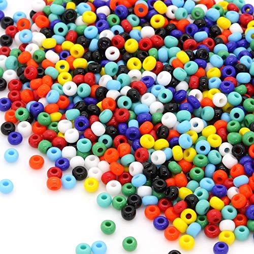 talla 6//0 - a elegir Metálico aprox. 4mm 50g abalorios semilla de cristal