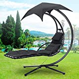 Beyondfashion Garden Patio Pool Furniture - Sun Lounger, Swing Chair, Hammock, Rocker
