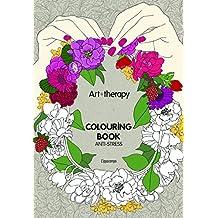 Art therapy. Fiori. Colouring book