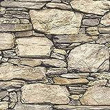 Wallpaper Home Hadrian Stone Wall Peel & Stick Wallpaper