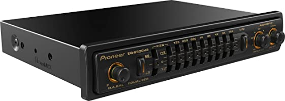 Pioneer Car Audio Equalizer, EQ-6500V2