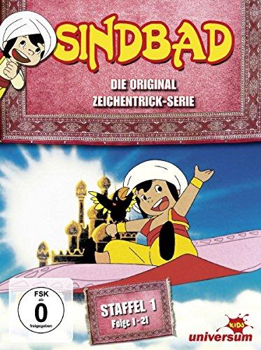Sindbad - Die Original Zeichentrick-Serie, Staffel 1, Folge 01-21 [3 DVDs]