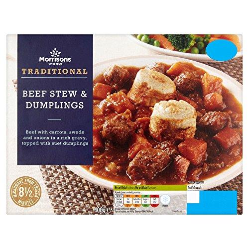 Morrisons Beef Stew and Dumplings, 400g (Frozen)