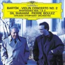 Bartok : Concerto pour violon n� 2 - Rhapsodies n� 1 et n� 2