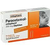 Paracetamol Ratiopharm 250 mg Zäpfchen