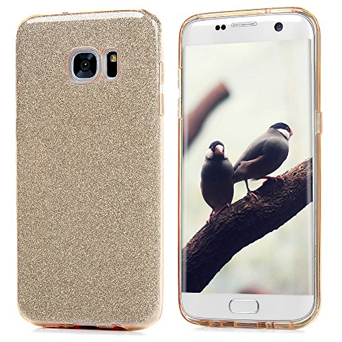 Mavis' s Diary Cover per Samsung Galaxy S7 Edge Custodie 3 in 1 (PC Inner + PVC tra cassetta + TUP Back) per cellulare anti scratch telefono Cover Bumper caso Euit gold