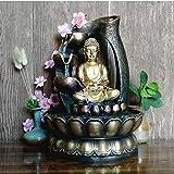 WDDqzf Skulptur Figur Dekoration Statuen Südostasien Buddha Statue Brunnen Wohnzimmer Luftbefeuchter Desktop Feng Shui Ornamente Hauptdekorationen