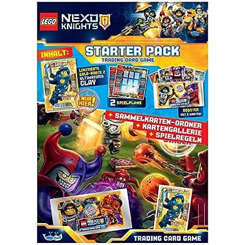 Nexo Knights - Tarjeta de comercio de lego knights nexo tarjetas de comercio del starter pack