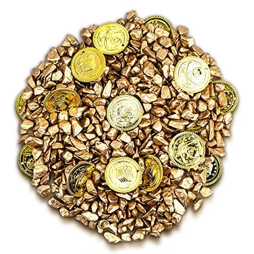 Brynnberg I Dekoset I Dekosteine Piraten Schatz Goldmünzen Schatzsuche Gold