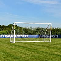 FORZA Match Football Goal (12ft x 6ft) Ultimate Portable Goalposts For Back Gardens And Organised Junior Football Matches. Carry Bag, Target Sheet & Training Ball Optional [Net World Sports]