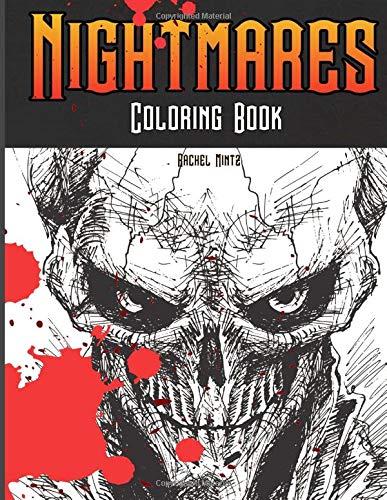 g Book: Horrid Demons, Zombies, Screaming Skulls, Horror Monsters - Halloween Coloring For Adults & Teenagers ()